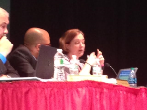 Former state testing director, Bari Ehrlichson, now working in Newark talks about the city's PARCC scores.
