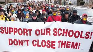 Throughout New Jersey, throughout the nation, public schools are under attack