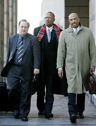 Alan Zegas, Sharpe James, and attorney Thomas Ashley. Star-Ledger Photo
