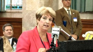 NJEA Vice President Marie Blistan