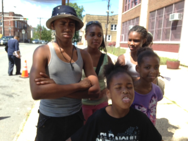 The Tillman children--Jahazz, Jahmira, Aaliyah, Likaya, and Jahmari--all going to different schools