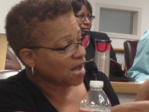 "Board member Antoinette Baskerville-Richardson said she thought teacher transfers were ""punitive."""