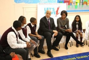 Not even a visit by the First Lady could save the Maple Avenue School.