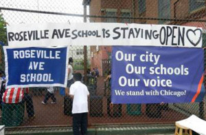 Roseville Avenue--and, no, it's not