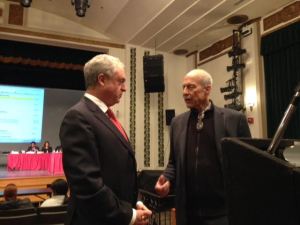 Cerf tells NJTV's Michael Aron why the news crew can't cover a public meeting