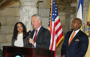 Cerf and Baraka announce community schools plan