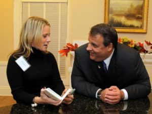 Christie and Kelly in happier days