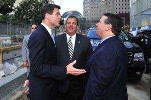 Baroni, Christie and Wildstein on 9/11/13--what were they laughing about? Someone's lying about that.